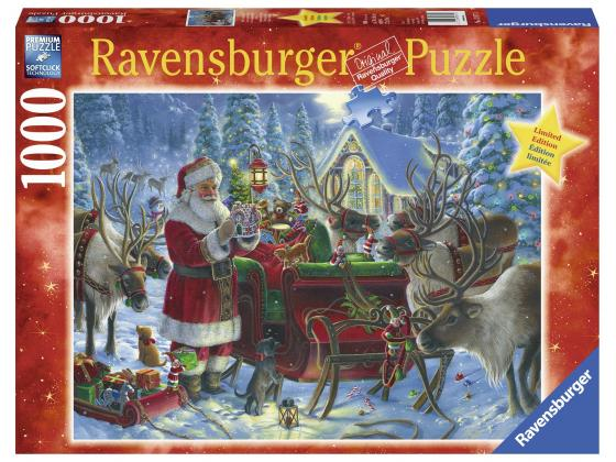 Packing The Sleigh 1000Pc