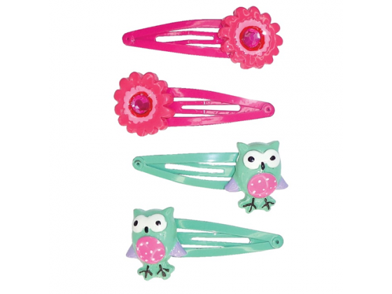 Flower Power Snap Clips