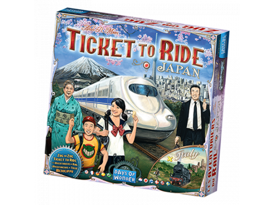 Ticket To Ride Japan & Italy (Map 7)