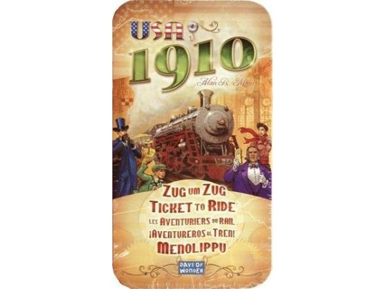 Ticket To Ride Usa 1910 (Expansion)