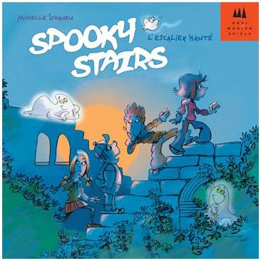 Spooky Stairs board game