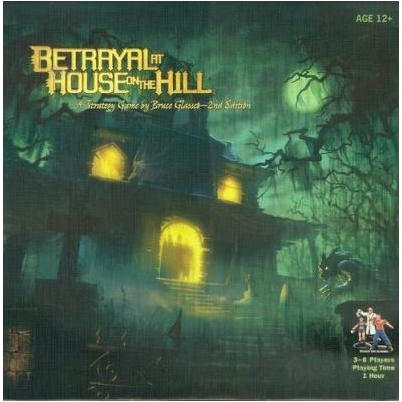 Betrayal of House on the Hill board game