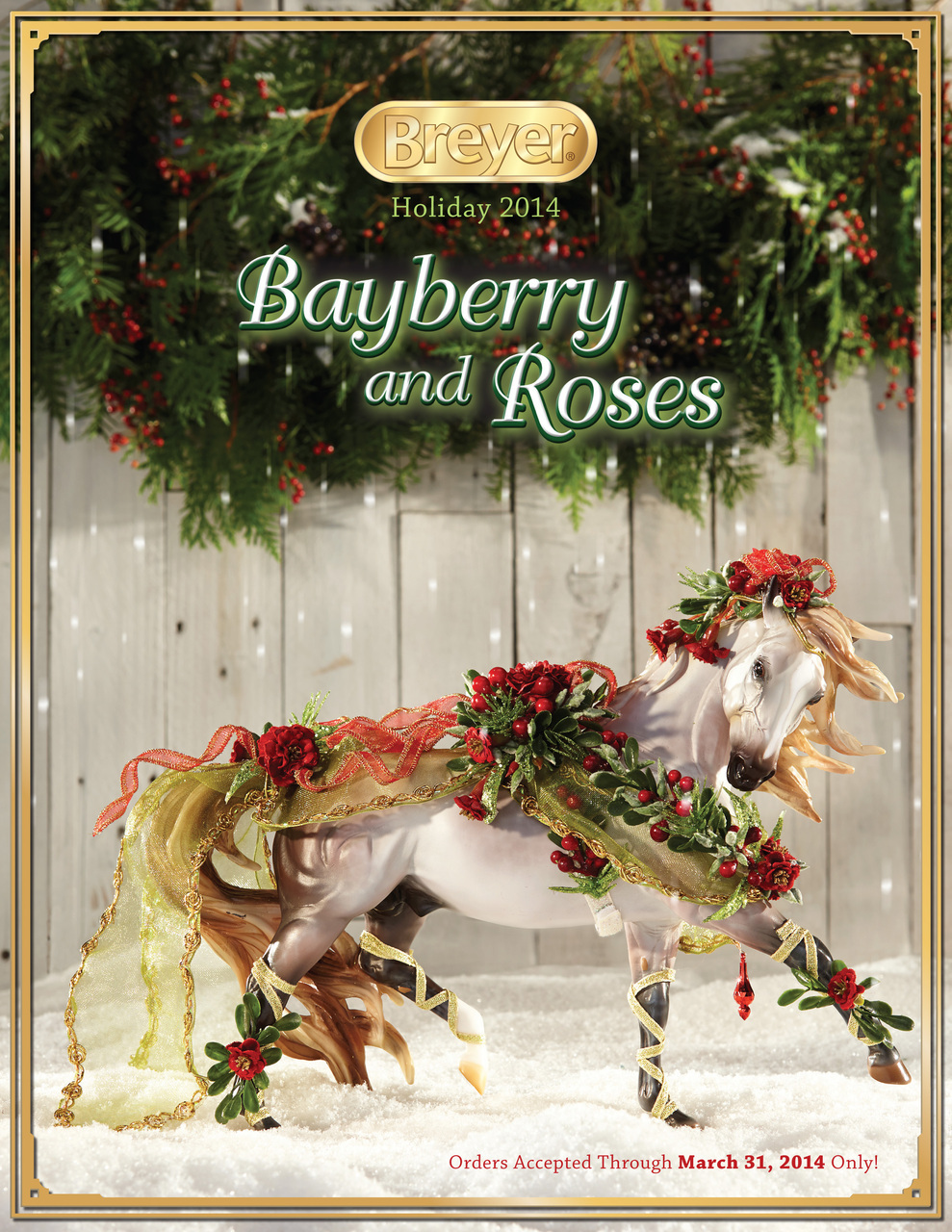 Toy Horses Breyer Breyer 2013 Holiday Horse