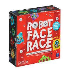 Robot Face Race game box