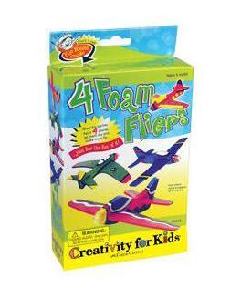 4 Foam Fliers by Creativity for Kids
