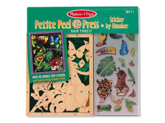 Melissa & Doug Petite Peel & Press Rainforest