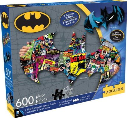 Batman 600-piece 2-sided puzzle