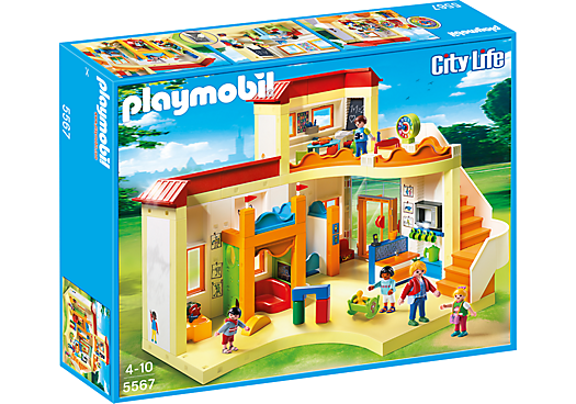 Playmobil Sunshine Preschool play set