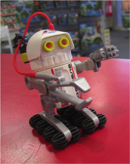 In-store photo of Playmobil Plastro-mech droid GEO 15/16