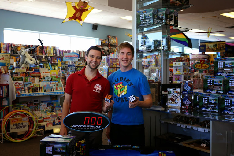 Rubik's Event with Eric Limeback