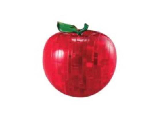 3D Crystal Puzzle Apple Level 2