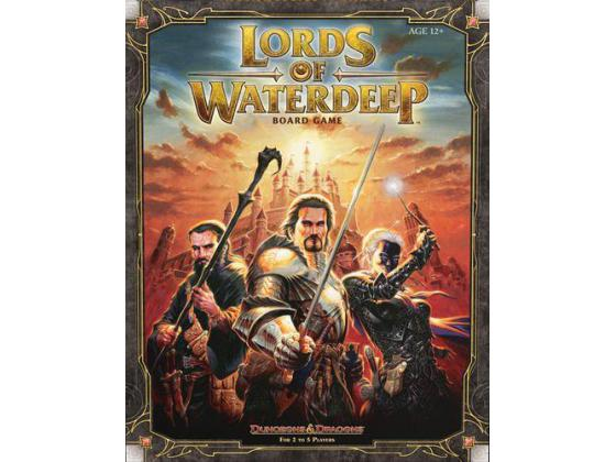 Lords of Waterdeep Dungeons & Dragons game