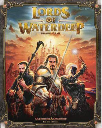 Lords of Waterdeep game