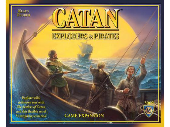 Settlers of Catan Pirates and Explorers