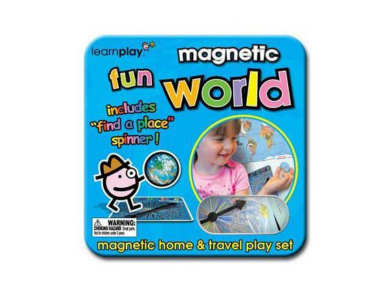 Magnetic travel Game