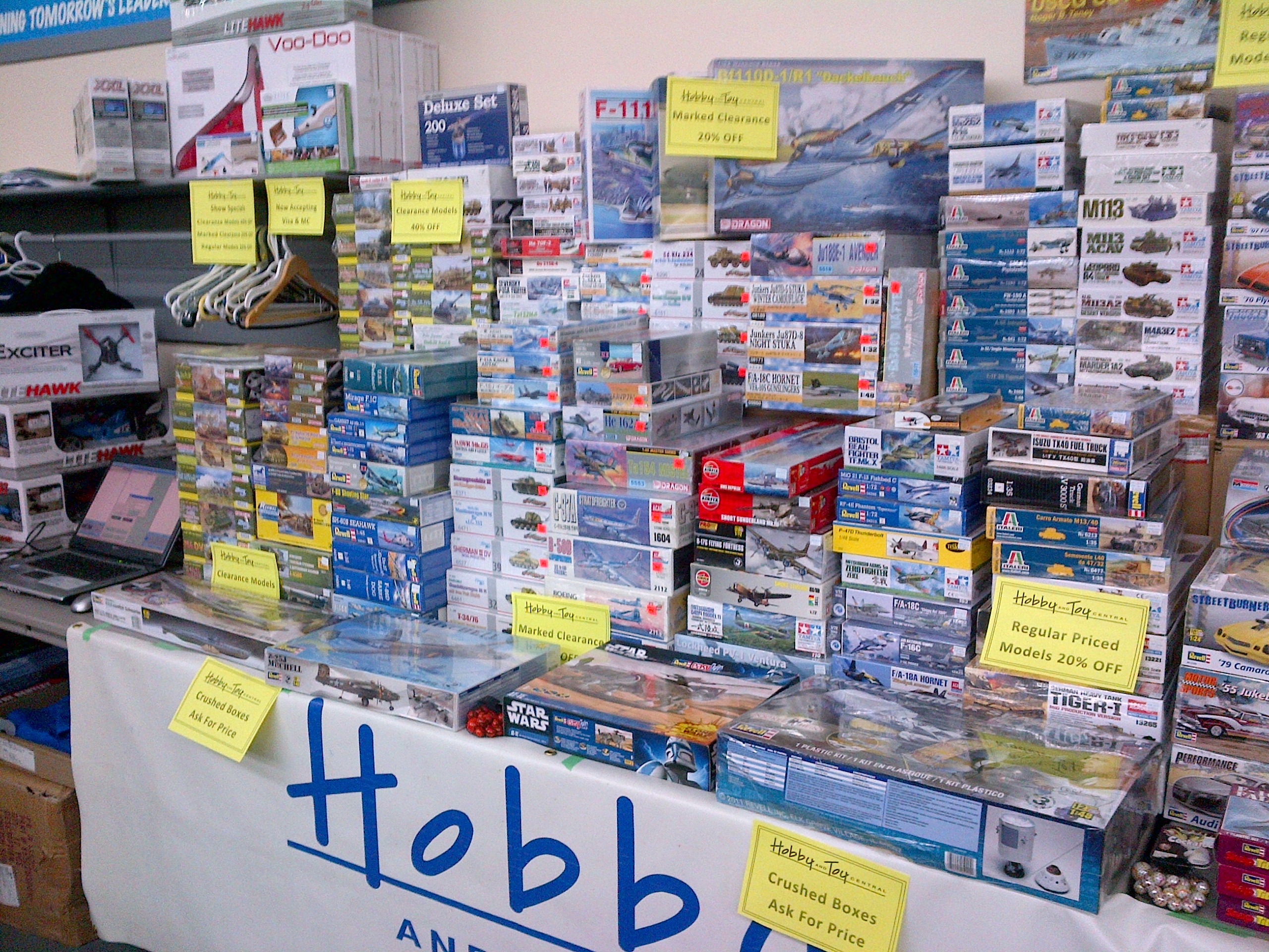 Our Booth at Kitchener's Model Show 2013