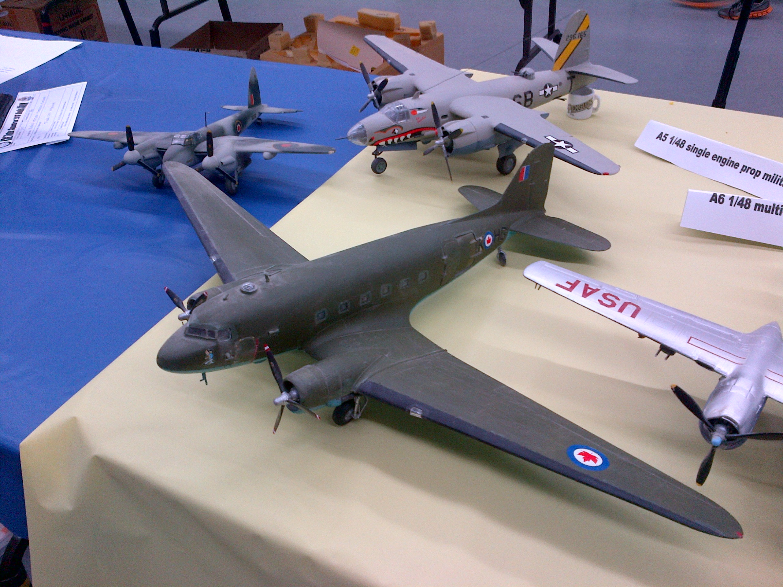 Kitchener's Aviation Model Show 2013