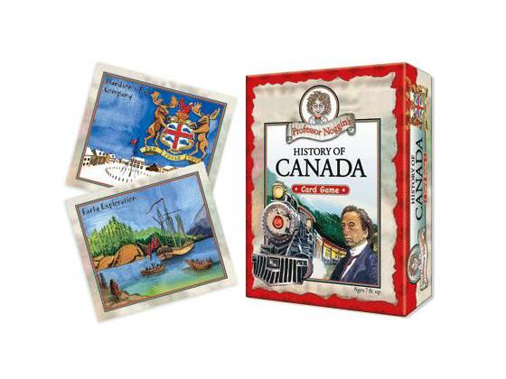 History of Canada card game