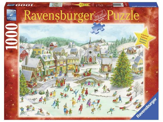 Playful Christmas Day 1000Pc
