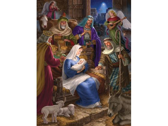 Holy Night Family 350Pc