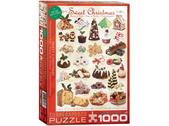 Sweet Christmas 1000Pc