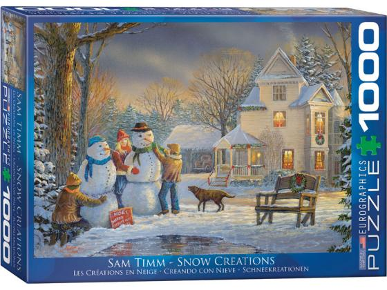 Timm - Snow Creatures 1000Pc