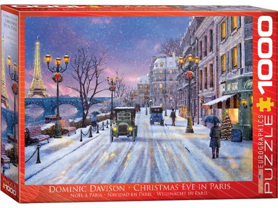 Christmas Eve In Paris 1000Pc - Davidson