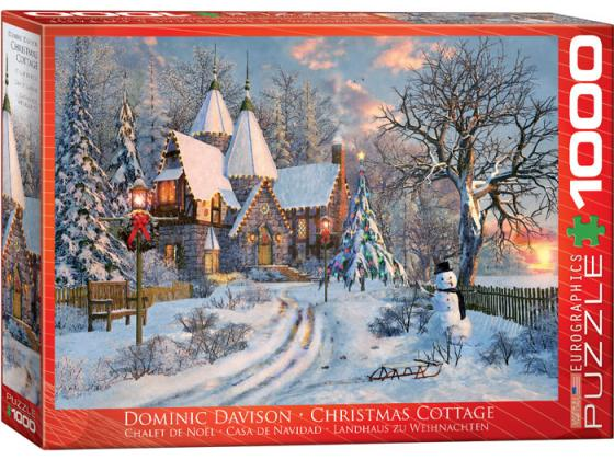 Davison - Christmas Cottage 1000Pc