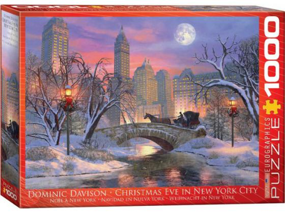Christmas Eve In Nyc 1000Pc