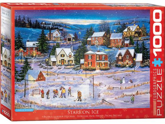 Stars On Ice - Bourque 1000Pc