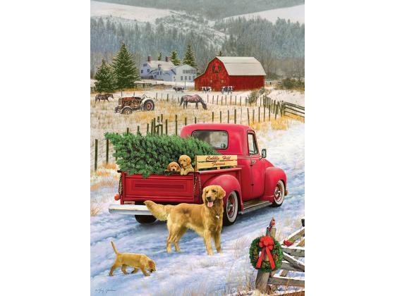 Christmas On The Farm 1000Pc