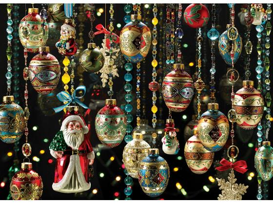 Christmas Ornaments 1000Pc