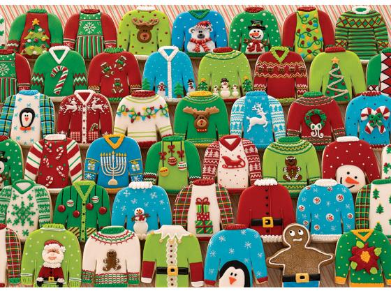 Ugly Xmas Sweaters 1000Pc