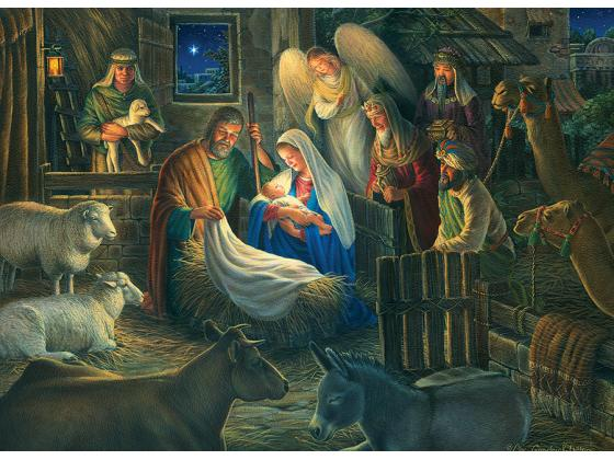 Away In The Manger 500Pc