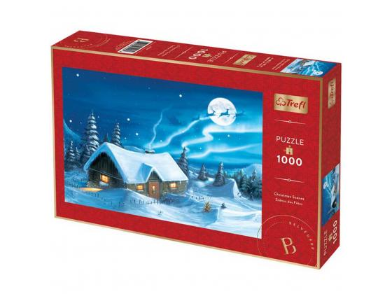 Christmas Blue Moon 1000Pc