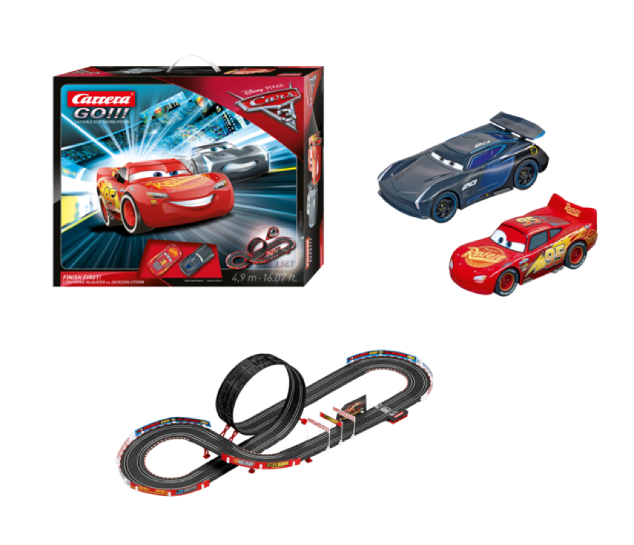 Carrera slot car racing kit