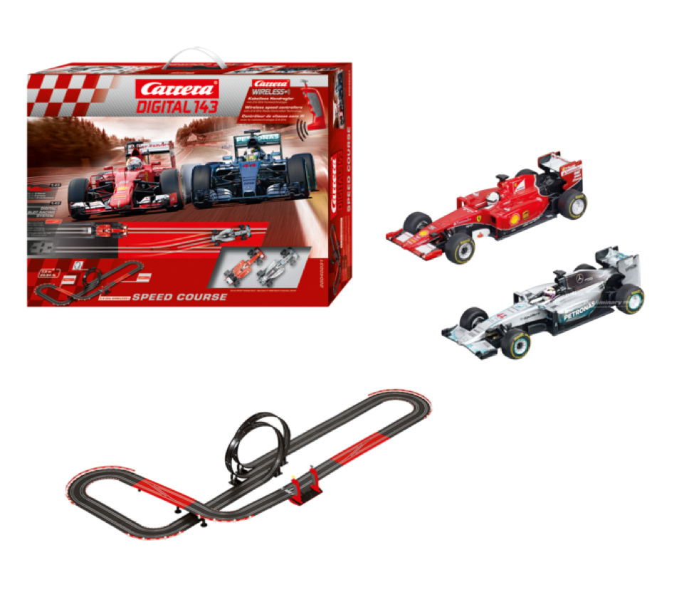 Carrera slot car digital 143 racing kit