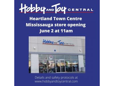 Mississauga store re-opening announcement