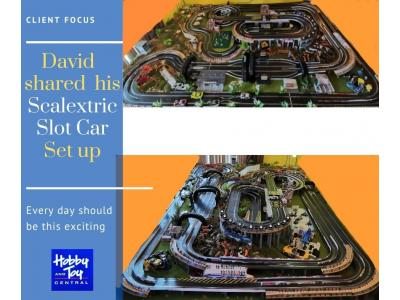 Scalextric project by David