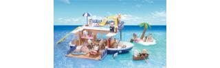 Calico Critters Seaside Cruiser House Boat play set