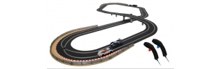 Slot car racing track
