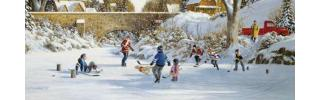 Pond Hockey - Outdoor Winter Fun