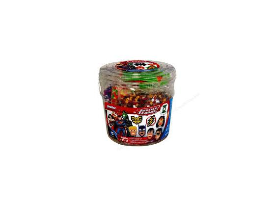 Justice League Fuesed Bead Bucket