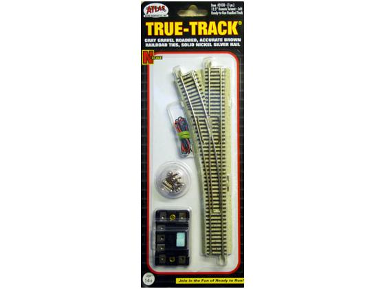 """True Track 12.5"""" Left Turn Out"""