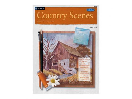 Acrylic Country Scenes Learn To Paint