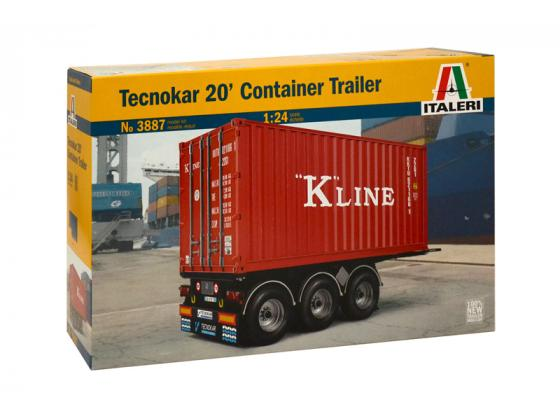 20' Container Trailer 1/24