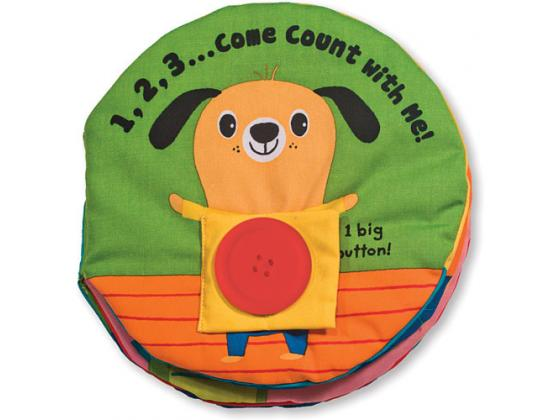 1,2,3...come Count With Me! Cloth Book