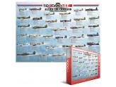 Allied Air Command Wwii Fighters 1000Pc