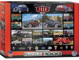 American Cars Of The 1930 1000Pc