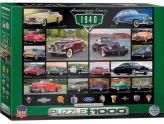 American Cars Of The 1940 1000Pc